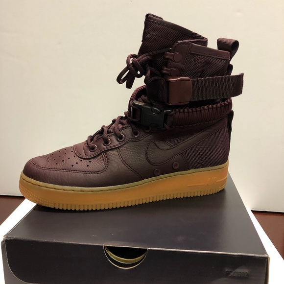 Nike Special Field Air Force 1 Deep Burgundy Gum